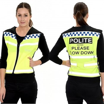 Equisafety Adults Polite Hi Viz Air Waistcoat