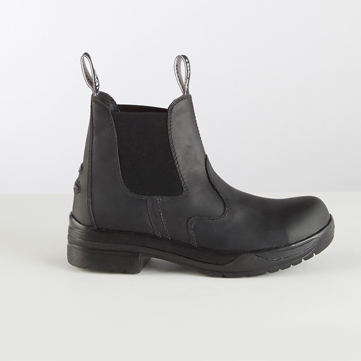 Toggi Kodiac Protective Steel Toe Cap Black Jodhpur Boots