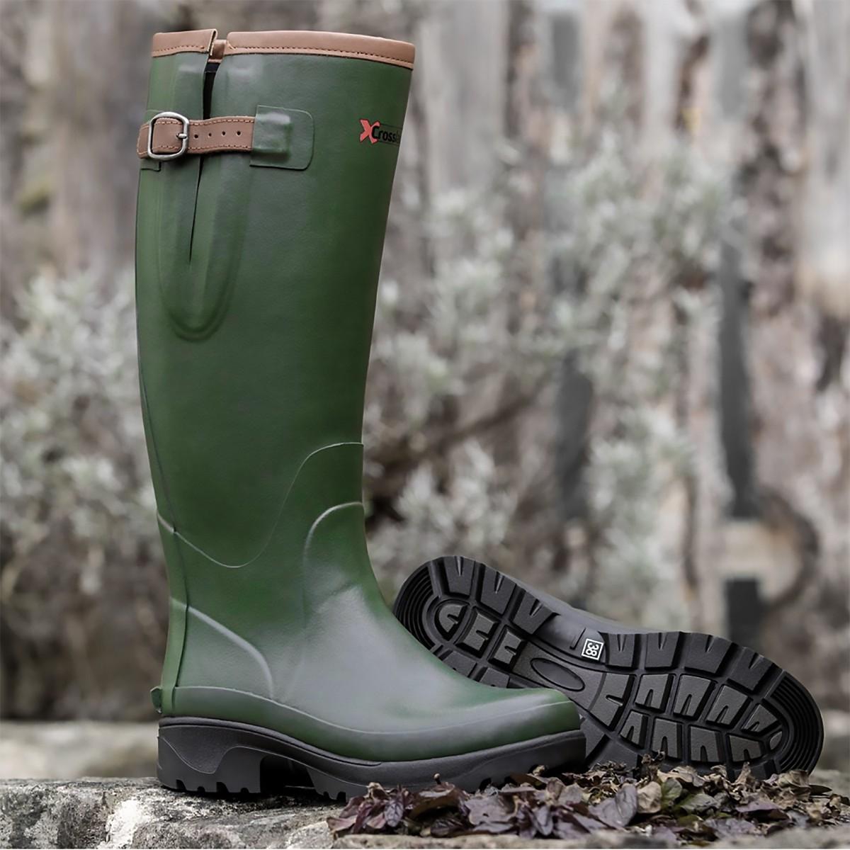Crosslander Kodiak Unisex Neoprene Lined Wellington Boots