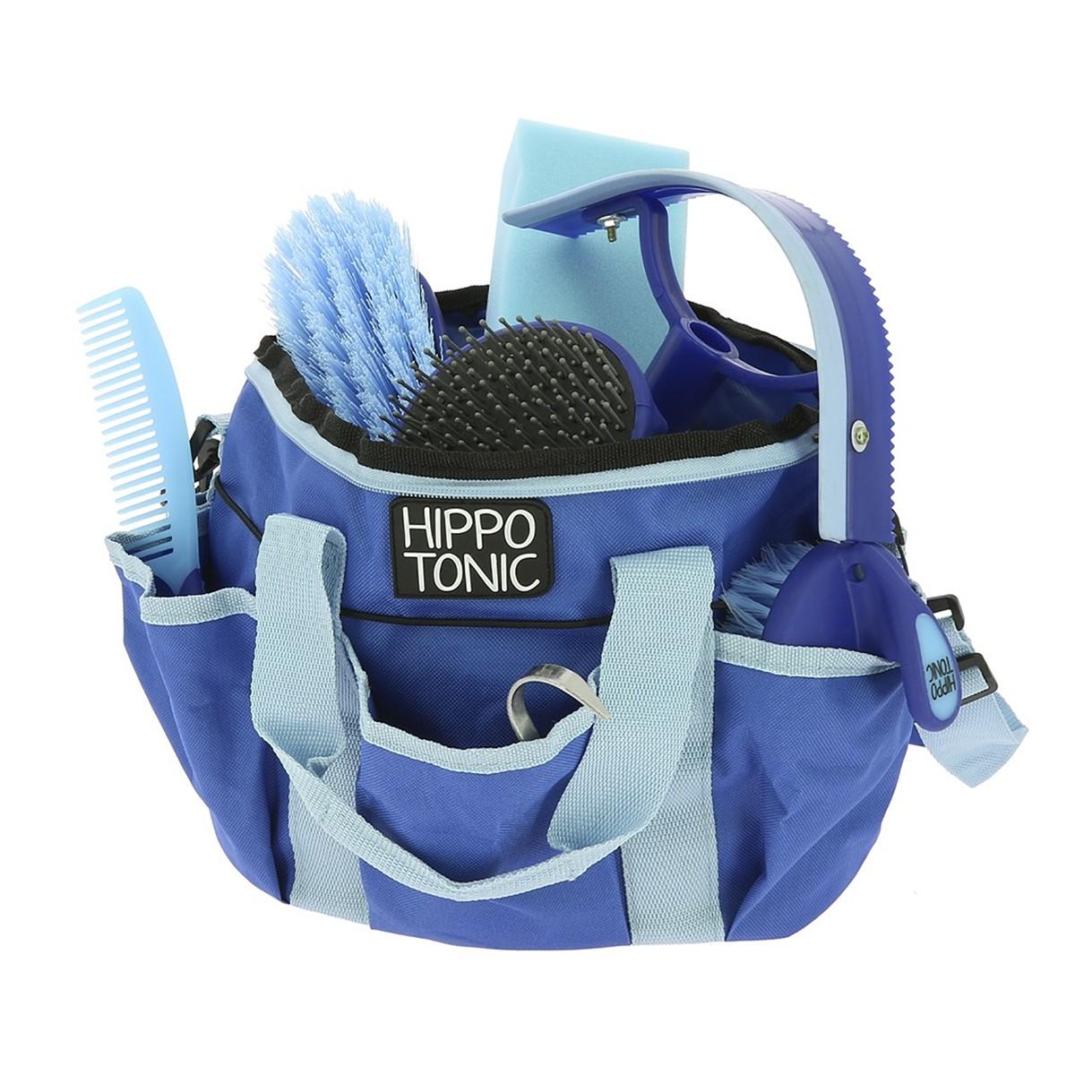Hippotonic Pro 3 Blue Grooming Kit & Bag