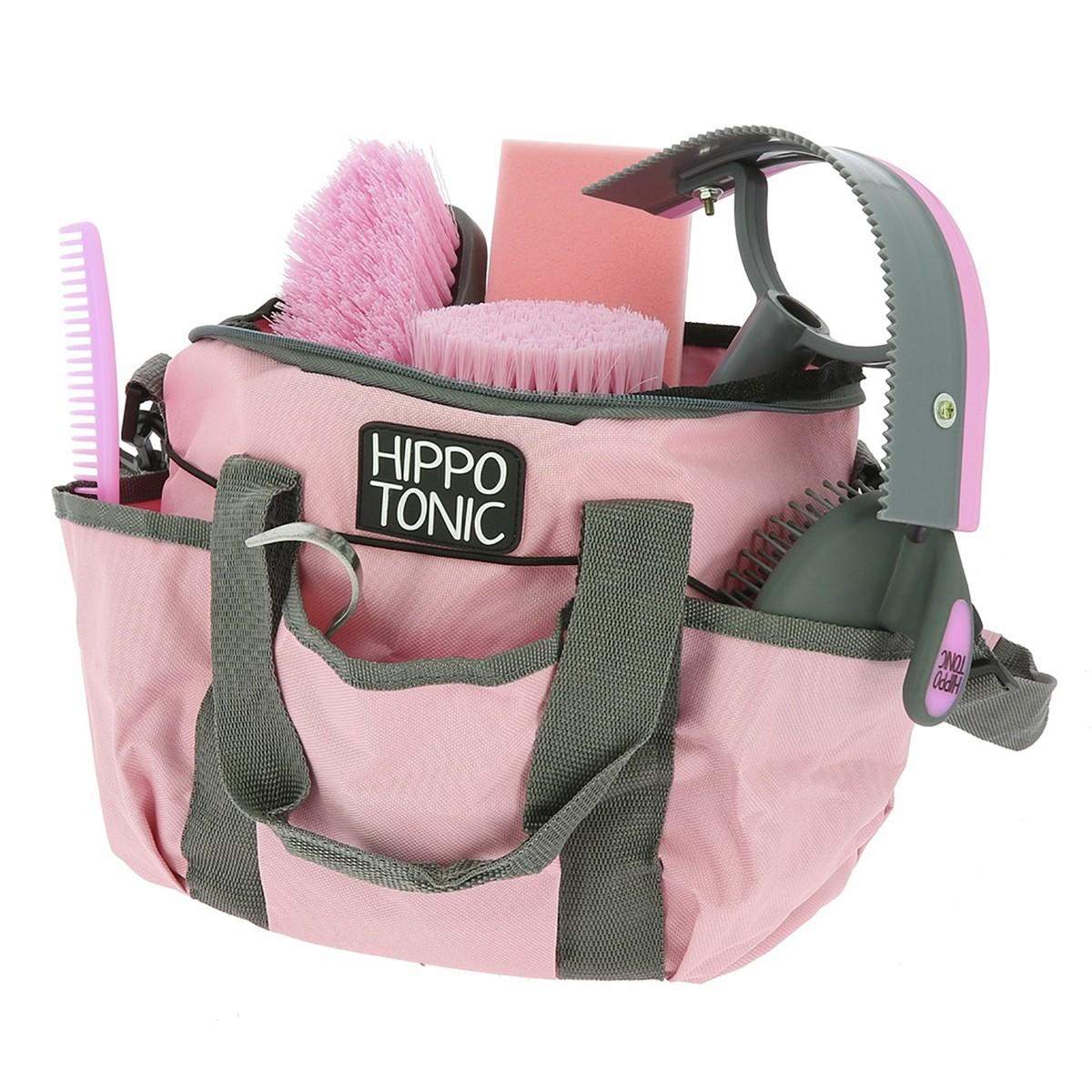Hippotonic Pro 3 Pink Grooming Kit & Bag