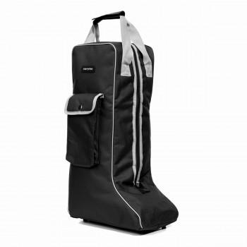 Equitheme Black/Grey Long Boots Bag