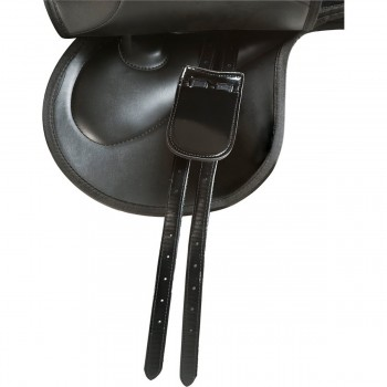 "Norton Rexine Synthetic 17"" Race Exercise Saddle"