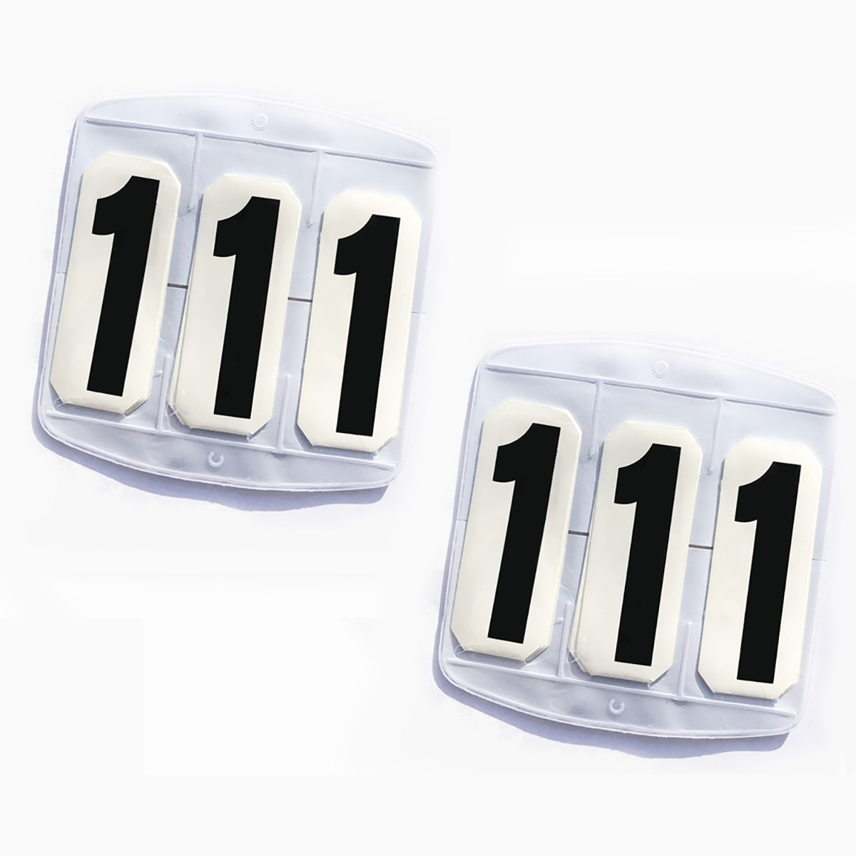 Saddle Cloth Holder With Numbers