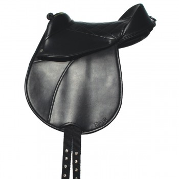 "Rhinegold Synthetic 10"" Cub Saddle"