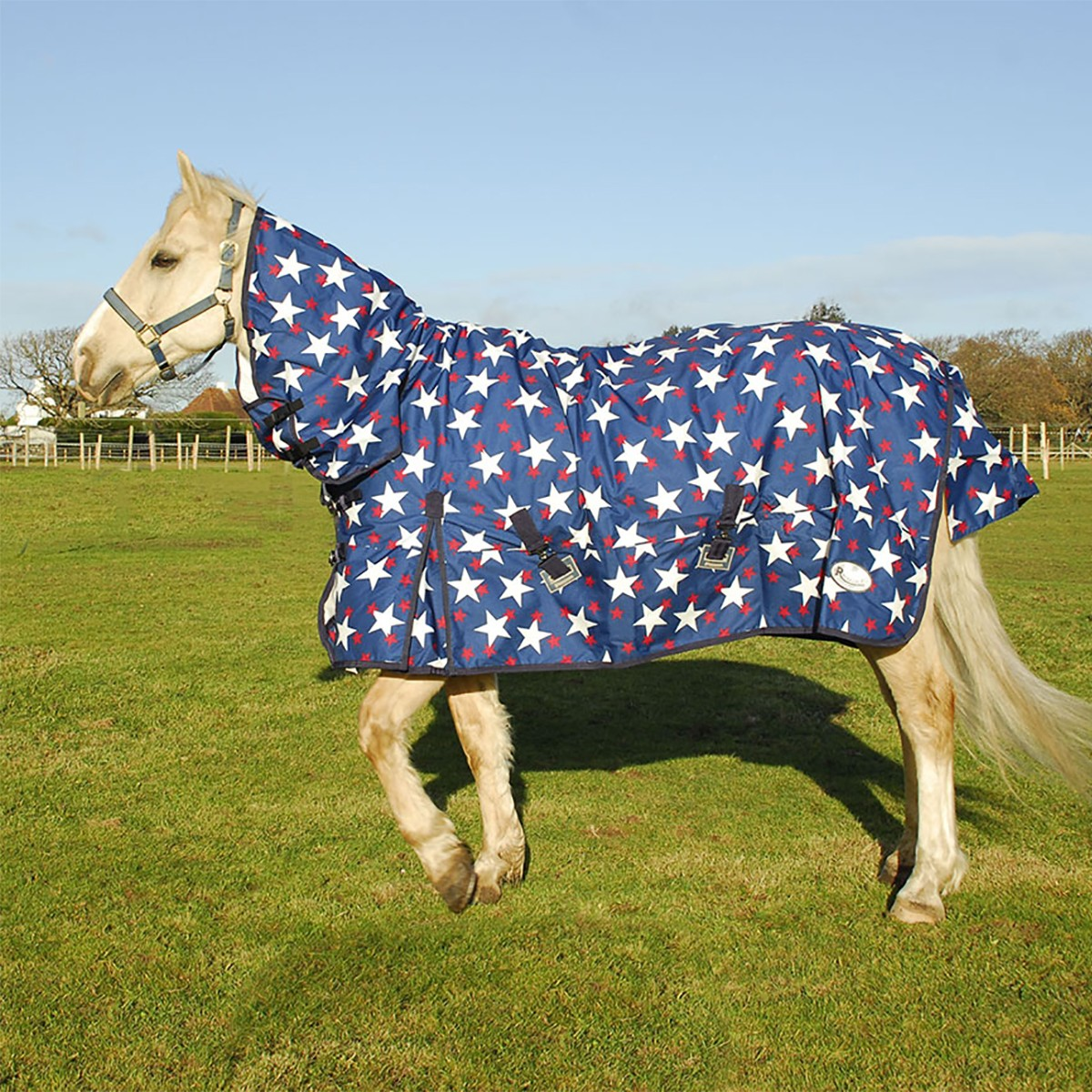 Rhinegold Stars Torrent Lightweight Combo Turnout Rug
