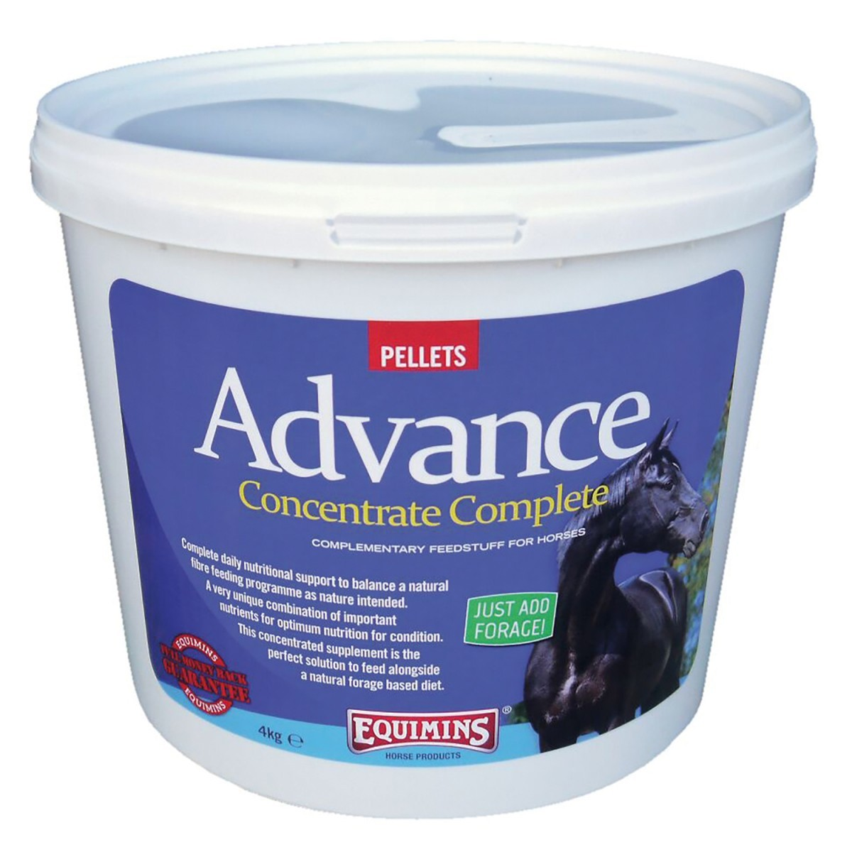 Equimins Advance Concentrate Complete Pellets Vitamin & Mineral Supplement