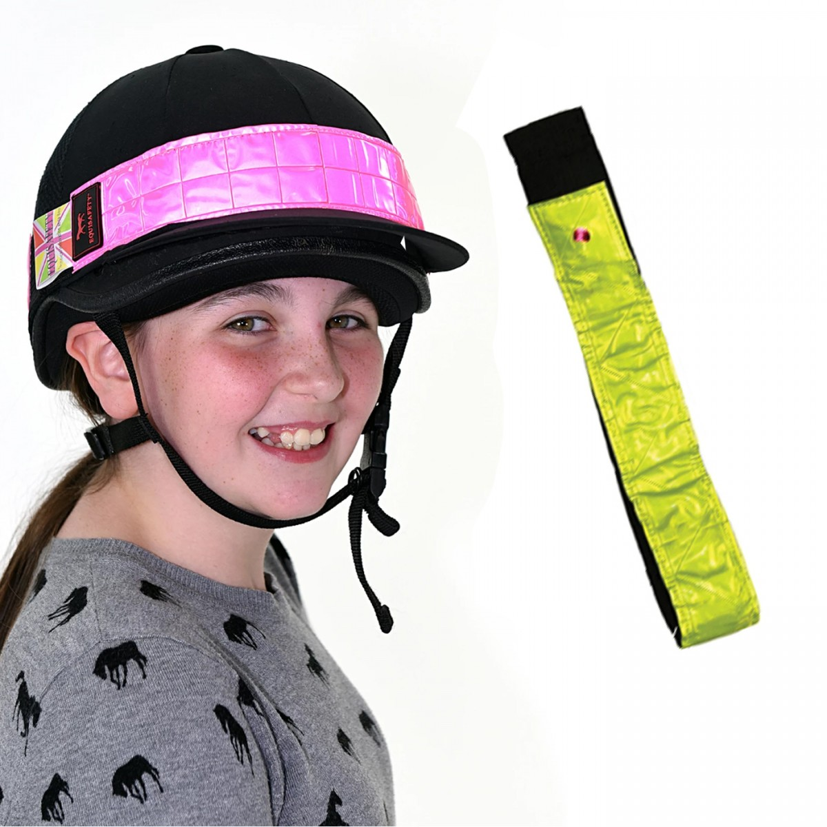 Equisafety Reflective Hat Band