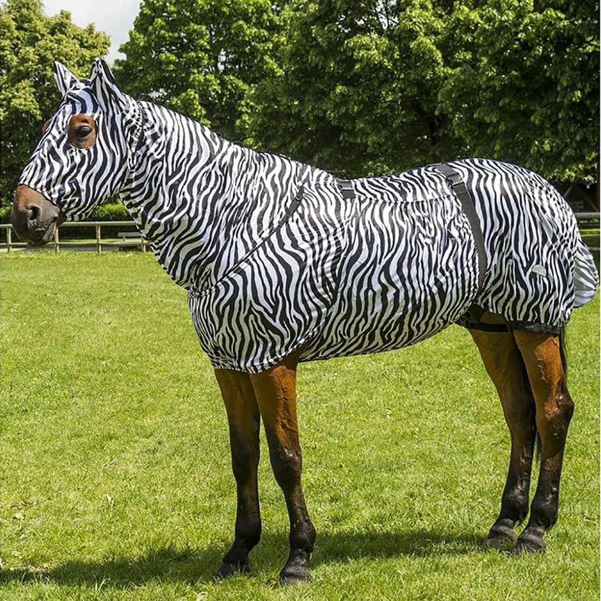 Equitheme Zebra Sweet Itch Rug