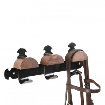Stubbs Retro Triple Bridle Rack
