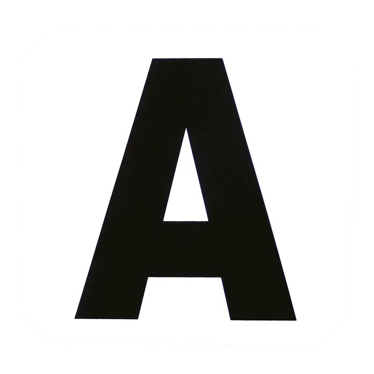 Set Of 12 Dressage Letters Sticker Markers