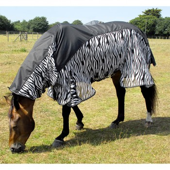 Rhinegold Zambia Waterproof Zebra Combo Fly Rug
