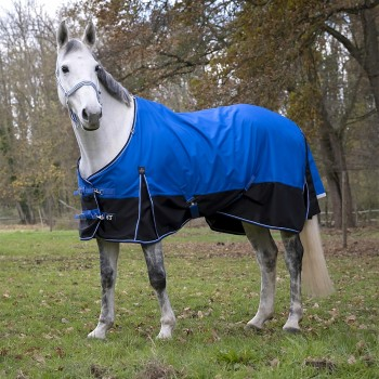 Equitheme Tyrex 600D 300g Aisance Blue/Black Heavyweight Turnout Rug