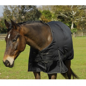 Rhinegold 1680D 350g Meribel Black Heavyweight Turnout Rug