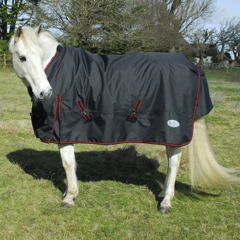 Rhinegold 1000D 350g Thor Black Heavyweight Turnout Rug