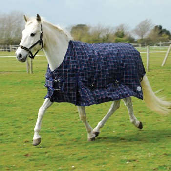 Rhinegold 1000D 350g Zeus Check Heavyweight Turnout Rug