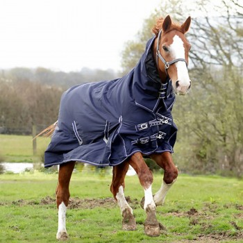 Rhinegold 600D 100g Arizona Navy Combo Turnout Rug