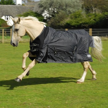 Rhinegold 600D 100g Montpelier Check Turnout Rug