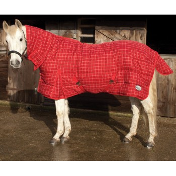 Rhinegold 300g Dakota Red Heavyweight Combo Stable Rug