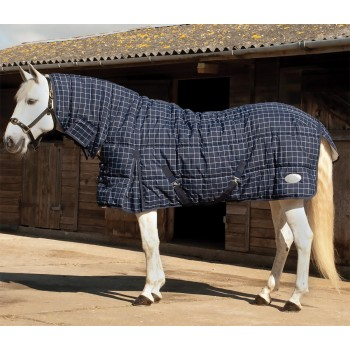 Rhinegold 300g Dakota Navy Heavyweight Combo Stable Rug