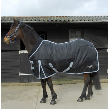 Rhinegold 300g Elite Supa Black Heavyweight Stable Rug