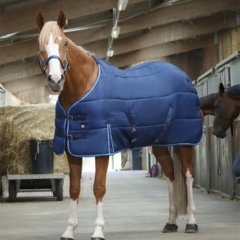 Riding World 300g Heavyweight Blue Stable Rug