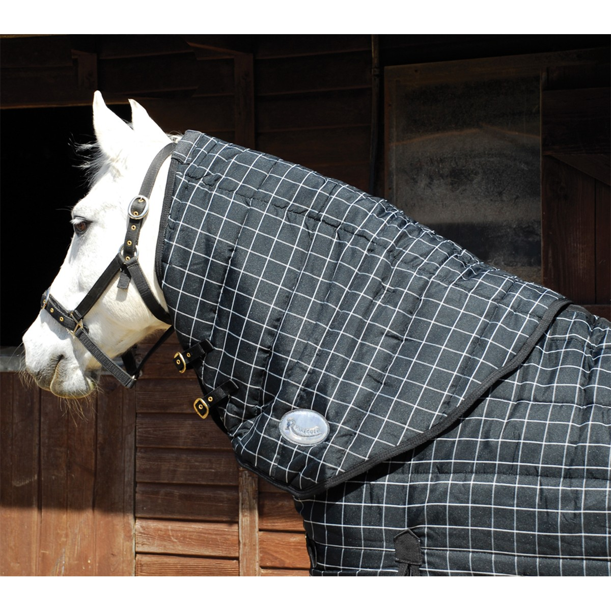 Rhinegold Vegas Stable Rug Neck Cover